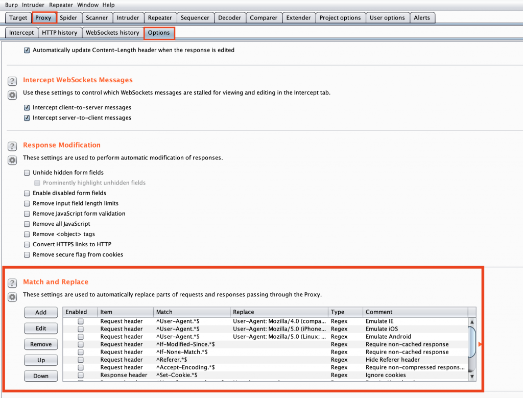 Using Burp Suite match and replace settings to escalate your